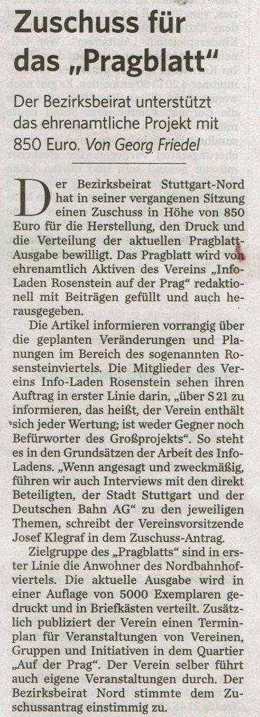 Stuttgarter Zeitung vom 28.06.21